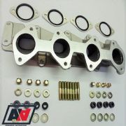 Ford Zetec Inlet Manifold Twin Weber 40 45 DCOE Inc Misab Plates Studs And Nuts